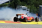 Galería: Salida de pista de Vettel