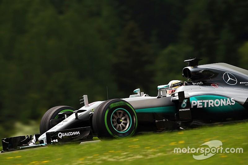 汉密尔顿:我在奥地利总是缺乏速度