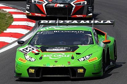 Lamborghini davanti nelle Libere 2 al Nurburgring con Bortolotti e Pohler