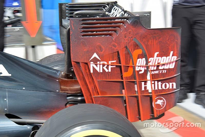 McLaren n'utilisera plus son aileron arrière radical en Autriche