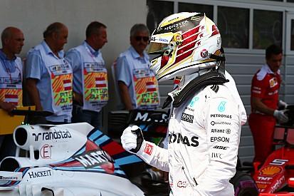 La grille de départ du Grand Prix d'Autriche