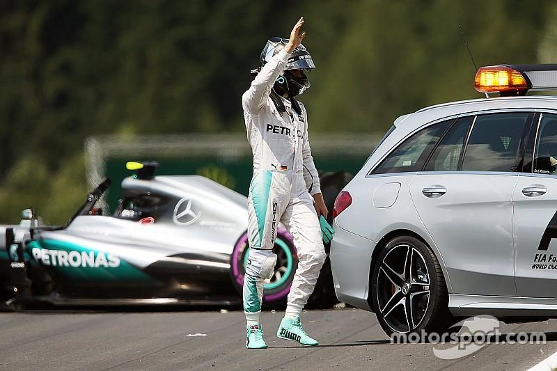 EL3 - Un accident qui pourrait coûter cher à Rosberg