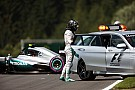 Rosberg krijgt gridstraf vanwege versnellingsbakwissel na crash