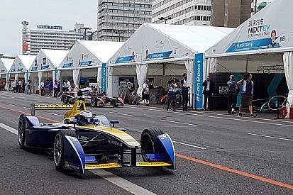 La grille de départ de la Course 1 de l'ePrix de Londres
