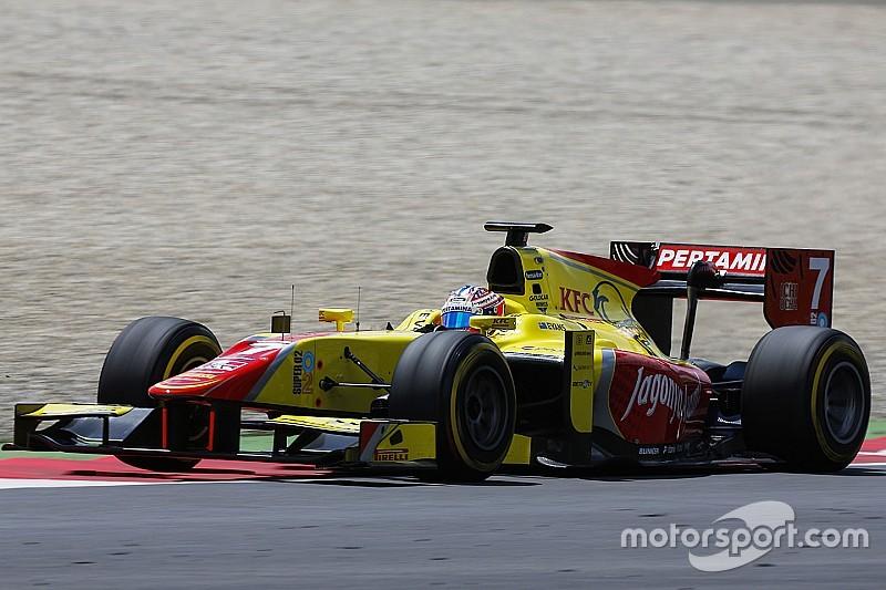 GP2 Avusturya: Kaos Evans'a yaradı