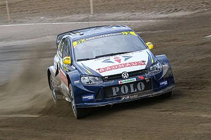 İsveç WRX: Kristoffersson ilk günü lider tamamladı