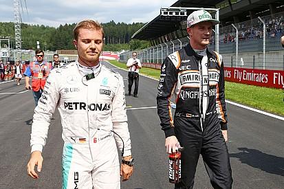 奥地利大奖赛:罗斯伯格将从第六位发车