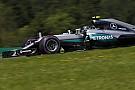 Weeromslag boost voor kansen van Mercedes in Oostenrijk
