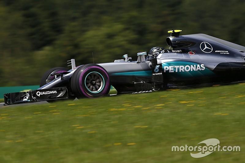 La meteorología le mejora la cara Mercedes