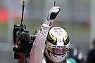Hamilton na touché met Rosberg: