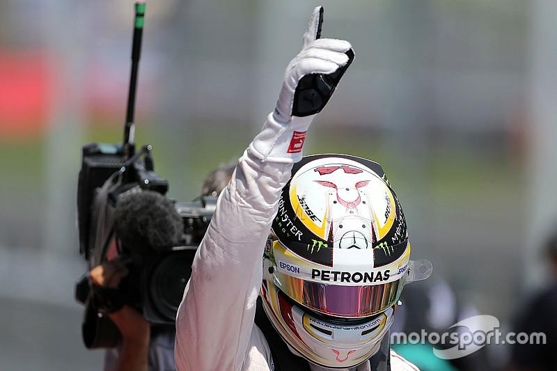 "Hamilton na touché met Rosberg: ""Niets controversieels"""