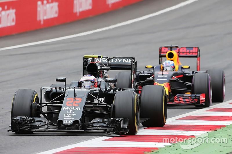 Button destacó en Austria con un sexto sitio con McLaren
