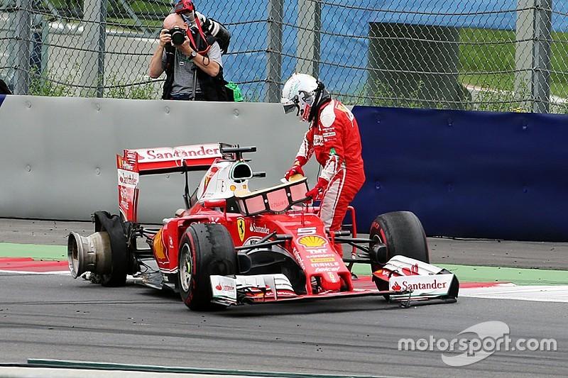 Ferrari: un cordolo ha rovinato la strategia ad una sosta?