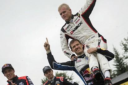 Rally di Polonia: a fine gara bell'omaggio dei piloti WRC a Ott Tanak!