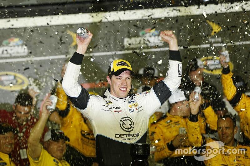 Brad Keselowski gagne à Daytona!