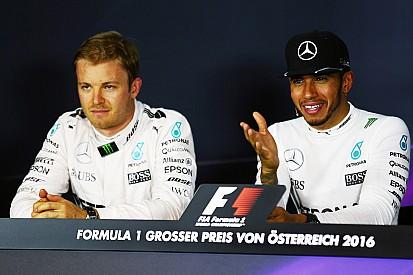 汉密尔顿与罗斯伯格对车队指令态度不一