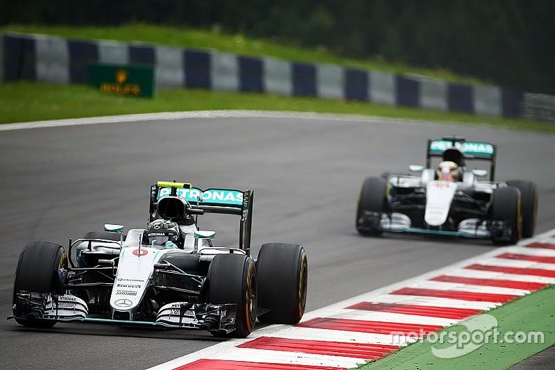 Comment le duel Hamilton-Rosberg s'est transformé en bataille en piste
