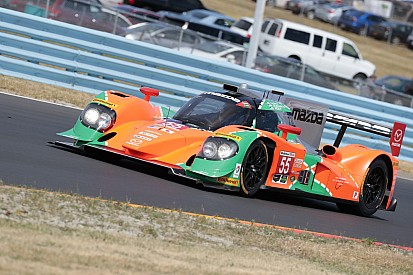 IMSA第6戦。ル・マン優勝25周年カラーのマツダ55号車はトラブルでクラス8位