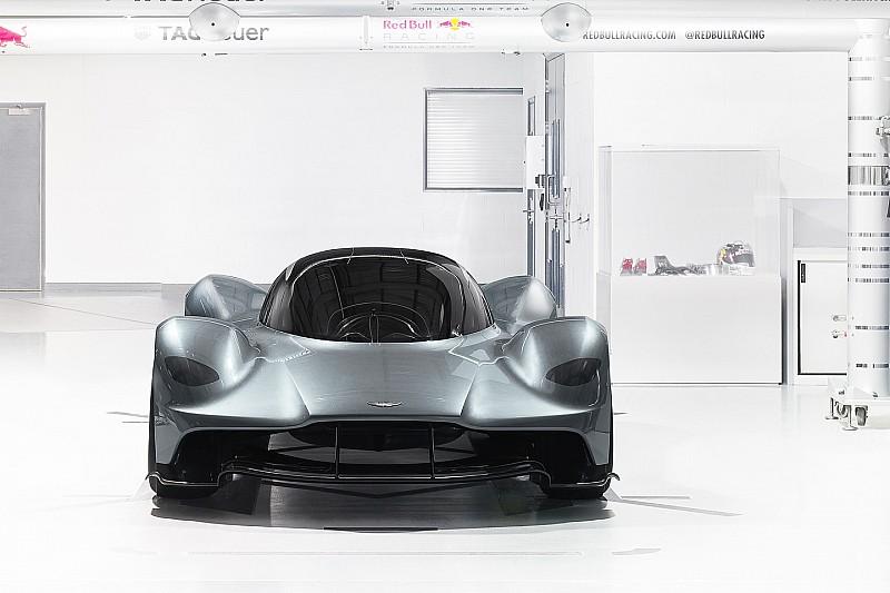 Photos - L'hypercar Aston Martin/Red Bull en détail