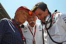 Il board Mercedes convoca Wolff e Lauda dopo il crash fra Nico e Lewis