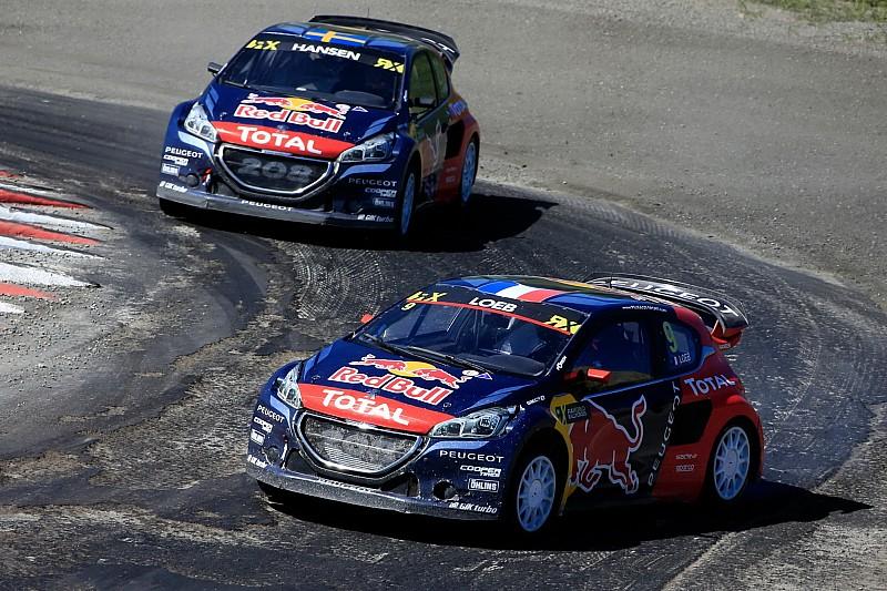 Loeb et Hansen sur le podium, mais Peugeot-Hansen toujours bredouille