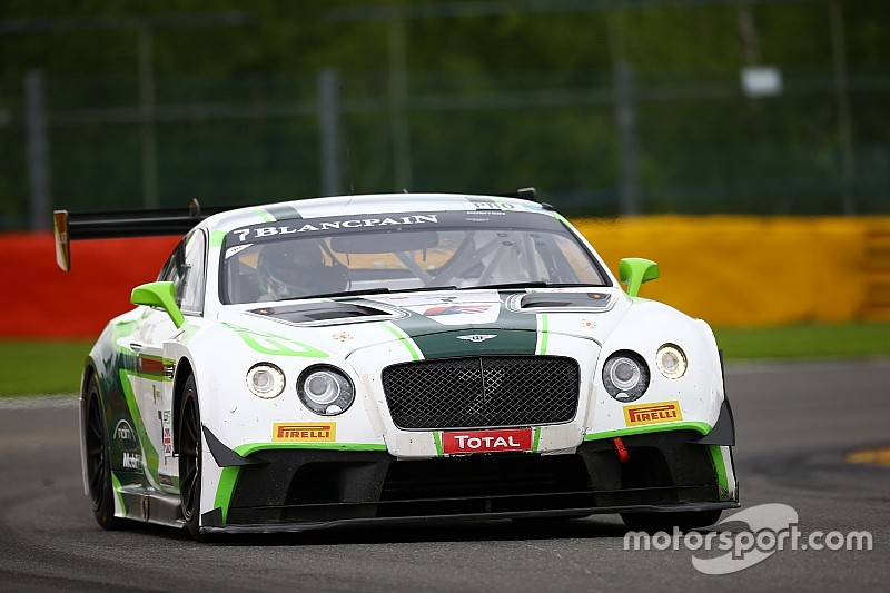 24h Spa: Bestzeit für Bentley beim Testtag zum Langstrecken-Klassiker