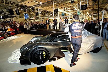 Ricciardo aimerait participer au développement de l'AM-RB 001