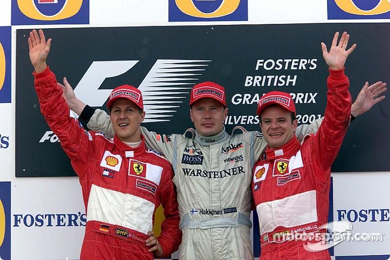 Victorias y podios del GP de Gran Bretaña de F1 en Silverstone