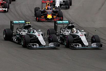 Mercedes tiene un plan para Hamilton y Rosberg