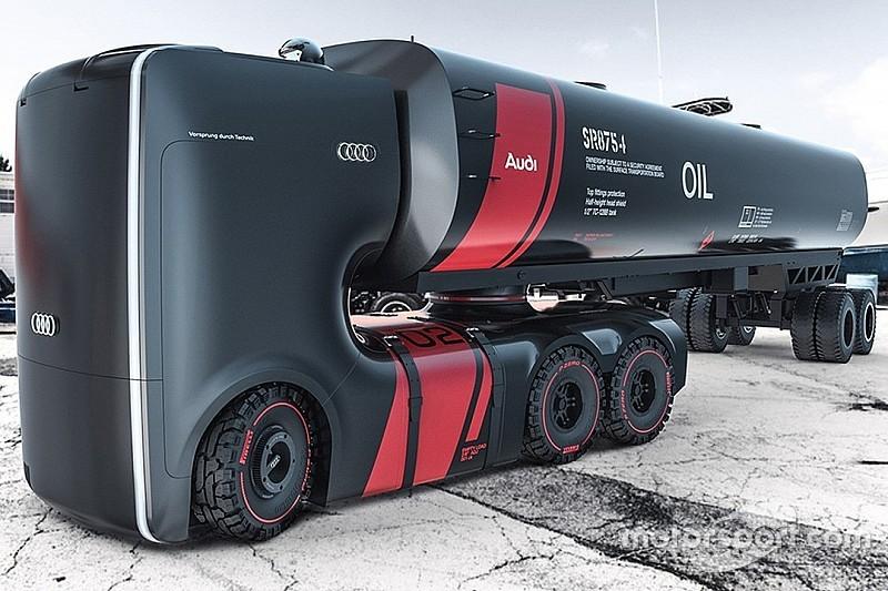 Designstudie von Audi: Sieht so der Lastwagen der Zukunft aus?