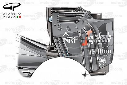 Análise técnica, GP da Áustria: asa traseira radical da McLaren
