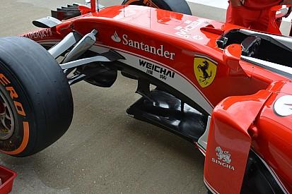 Technique - Sous le châssis de la Ferrari SF16-H
