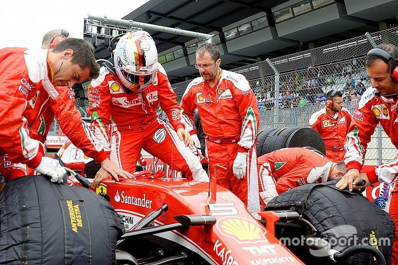 """Vettel: """"Mercedes aumenta 25-30 cv su potencia en clasificación"""""""