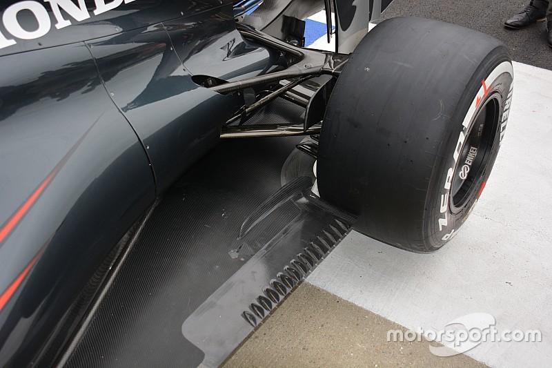 Technique - Le fond plat et le conduit de frein de la McLaren MP4-31