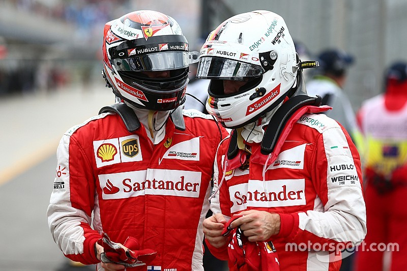 """Vettel - """"Kimi et moi avons le moins de problèmes d'ego de tout le paddock!"""""""