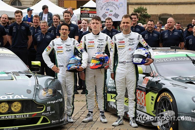 Aston Martin muda pilotos e Rees não corre mais em 2016