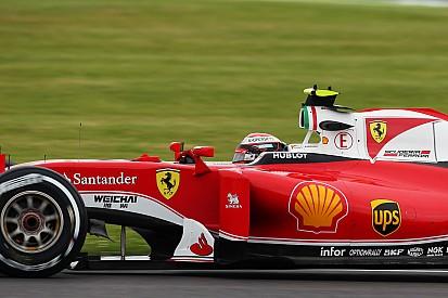 """Räikkönen """"heureux"""" et totalement concentré sur la course"""