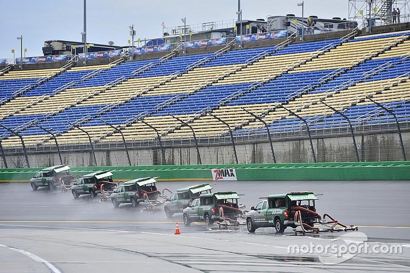 Chuva cancela classificação da NASCAR; Harvick garante pole