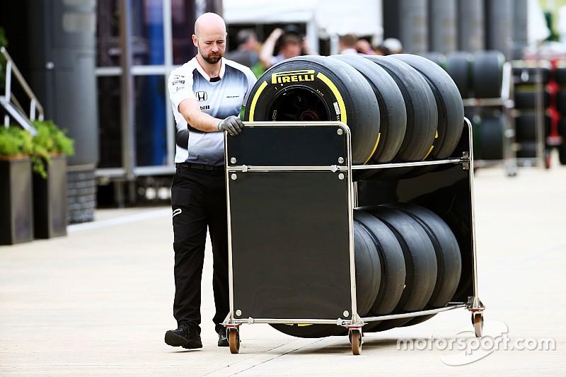 Pirelli espère une allocation fixe pour le début de saison 2017