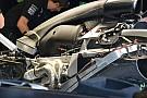 Mercedes: cambiata la refrigerazione dell'ERS per l'aerodinamica