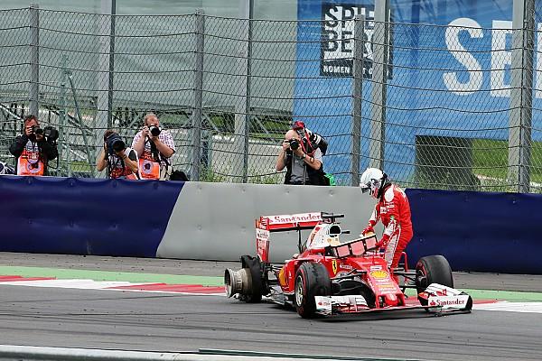 Pirelli suggère qu'un vibreur a pu causer l'explosion du pneu de Vettel