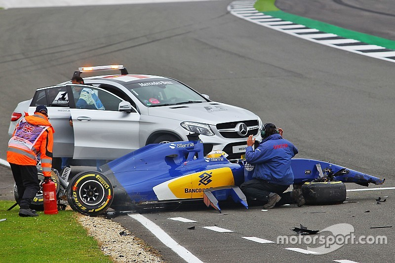 Marcus Ericsson in ospedale dopo il brutto incidente delle Libere 3