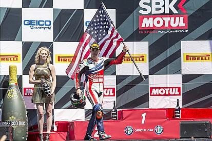 Dix ans après, Hayden retrouve le podium de Laguna