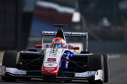 Fuoco si esalta sull'umido e coglie il primo successo in GP3