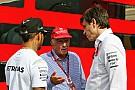 Per Wolff la vicenda dei commenti di Lauda su Hamilton è chiusa