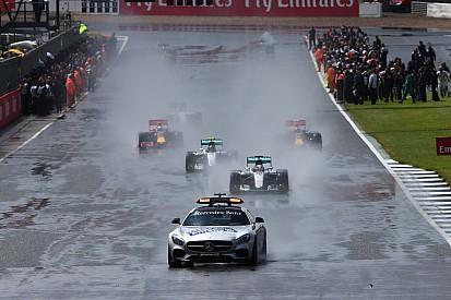 Hamilton explica su casi choque contra el Safety Car