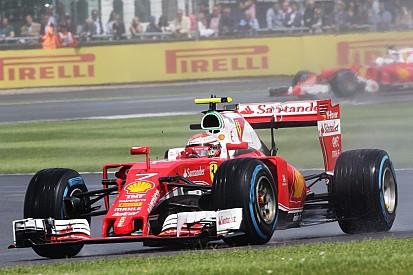 Para Räikkönen, dia ruim da Ferrari em Silverstone é exceção