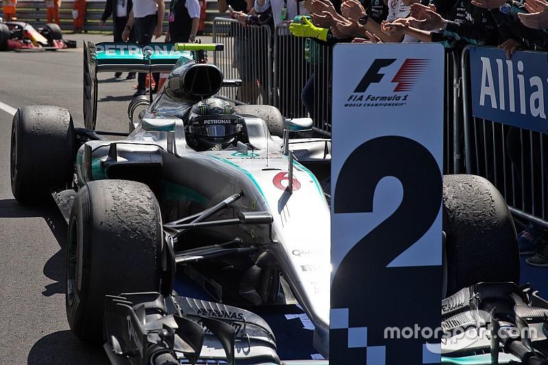 Mercedes apela la penalización a Rosberg