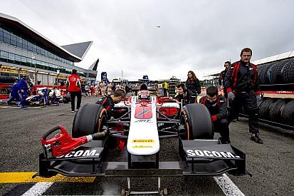 GP2シルバーストン:松下、ミスで第2レース表彰台を逃す