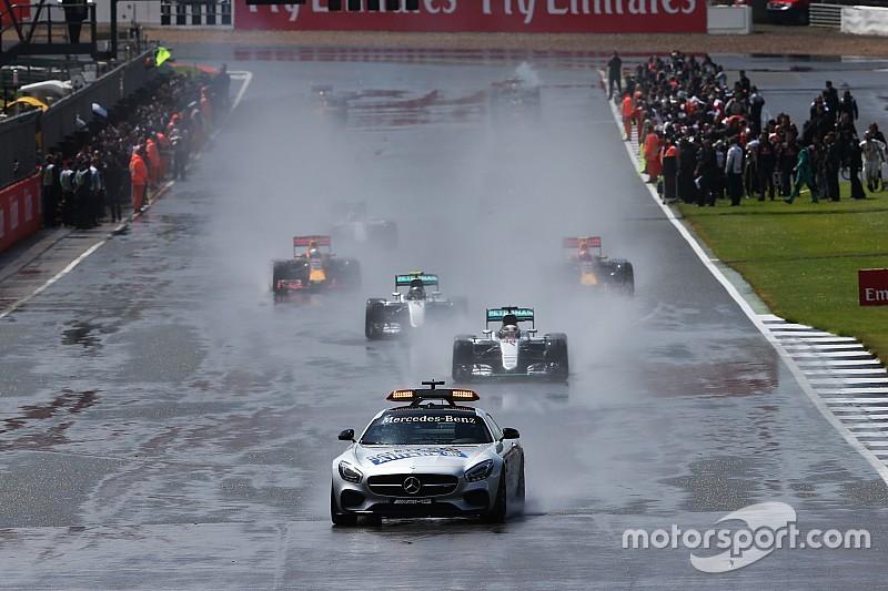ハミルトン、ブレーキ温まらず「セーフティカーに追突しそうになった」